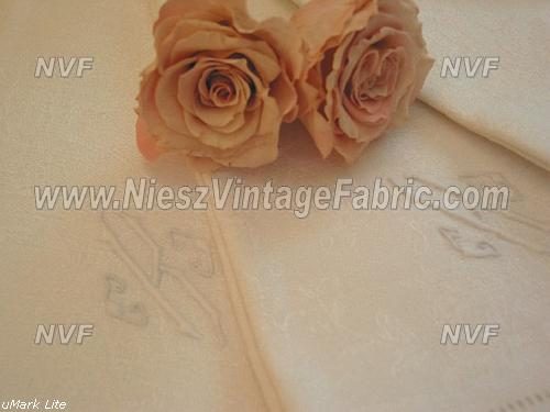 "Damask Rose Napkins Monogram ""K"""