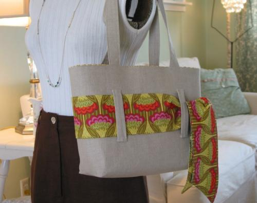 Double-Sided Sash Tote