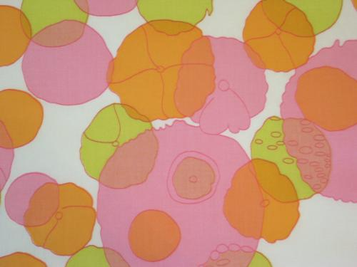 Pink Orange Lime Mod Circles