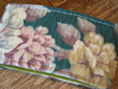 Vintage Floral  Fabric Coffee Sleeve