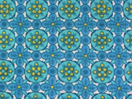 Teal and Yellow Circle Geometric