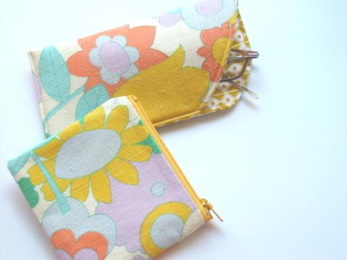 Eyeglass Case and Change Purse Set
