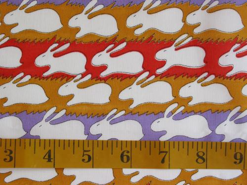 Mod Bunnies on Zig Zag Stripes