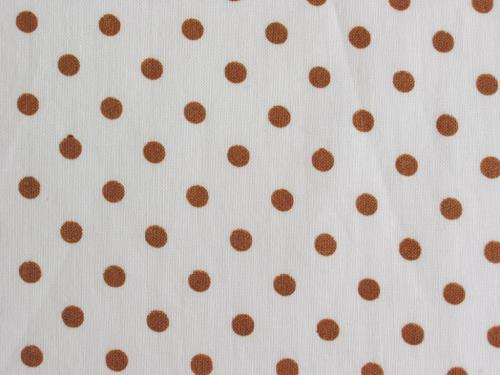 Chocolate Brown Polka Dot